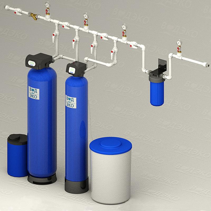 Станция очистки воды АКВАФЛОУ 3/FSBb-1.1