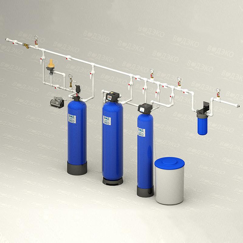 Станция очистки воды АКВАФЛОУ 4/AFSBb-1.1