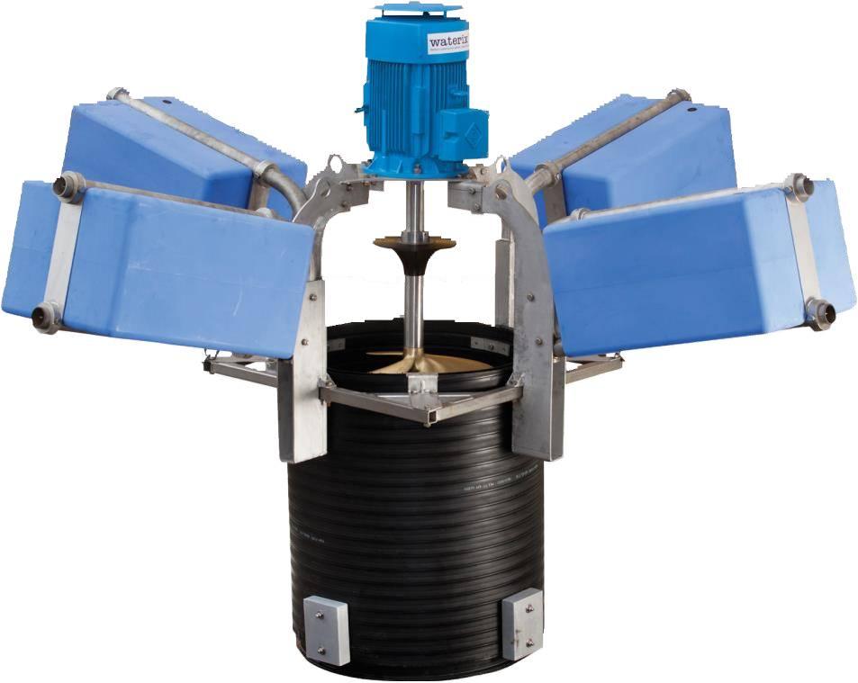 Технология для эффективного смешивания производственных и муниципальных сточных вод - MIXIT